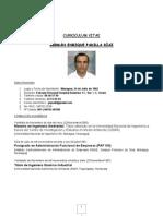 Curriculum Vitae - GERMAN ENRIQUE PADILLA DIAZ