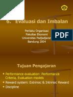 Perilaku Organisasi-evaluasi Dan Imbalan