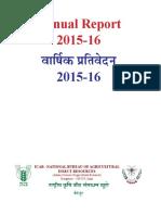 NBAIR Annual Report 15-16