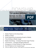 KPCB Top 10 Mobile Trends