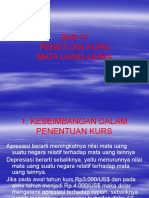 Manajemen Keuangan-kurs Mata Uang Asing