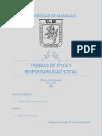 Trabajo  de Etica y Responsabilidad Social grupos 2020-