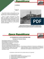 Arquitectura manabita, época republicana