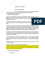 critere materiel partie I. melissa