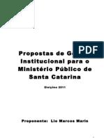 Proposta Gestão Institucional - versão 9