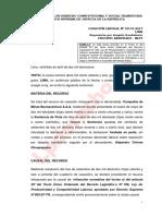 12 - Casación Laboral 12176-2017-Tacna - Segunda Sala de Derecho Constitucional y Social Transitoria - Reposición por despido fraudulento