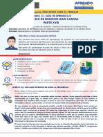 Semana 33 - 1° y 2° EPT_Guías de Aprendizaje_Mi modelo de negocio Lean Canvas XVIII