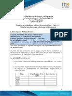 Guía de actividades y rúbrica de evaluación – Fase  4  – Diseñar un plan para solucionar el problema (1)