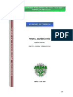 PRACTICA GENERAL  TURBINA DE GAS