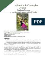 Familia Cynster 28 -La siguiente generación - La Inevitable Caida De Christopher Cynster.docx