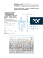 A1-Conceptos básicos Crucigrama