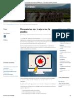 Herramientas para la ejecución de pruebas – Luis Antonio Saucedo Hernández