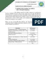 Academic Calendar - 2020-21.