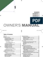 Uniden Phone DSS8955 manual