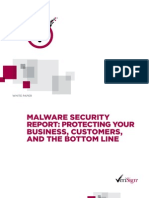 VERISIGN Whitepaper - Malware Security Report