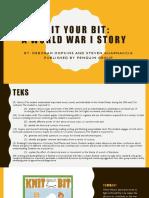 blooms literacy presentation-knit your bit