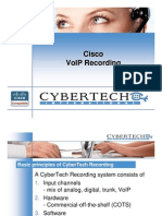 2. CyberTech - Cisco VoIP recording methods