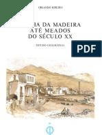 A Ilha da Madeira até meados do século XX_Orlando Ribeiro