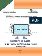 Scoala online_Experiente de succes_InvPrimar_ISBN