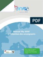 Manuel de My 2050 à l'intention des enseignants (2016)