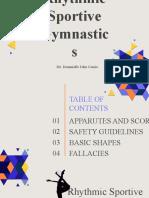 Rythmic Sports Gymnastics