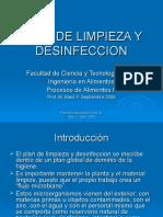 VI) PLAN DE LIMPIEZA Y DESINFECCION-Sept-2008