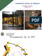 Situacion Presupuestaria de la UCV FCU 07_02_2011