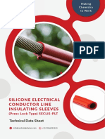 Brochure - Silicone Conductor cover/insulation tube or sleeve