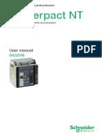 MANUAL MASTERPACT NT800