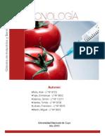 Tecnología de la Industria Biotecnológica - Informe