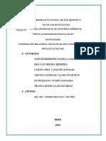 COOPERACIÓN BILATERAL, INICIATIVAS MULTI-BILATERALES E INICIATIVAS DE ONG