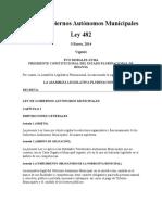 Ley 482 de Gobiernos Autónomos Municipales.docx