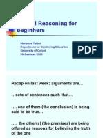 Critical Reasoning 2
