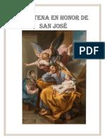 DEVOCION DE LOS 30 DIAS A SAN JOSE