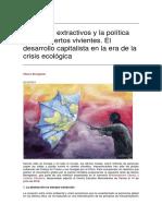 Territorios extractivos y la política de los muertos vivientes