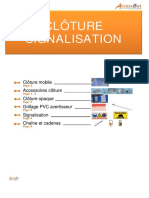 Chap 10 - Clôture Signalisation