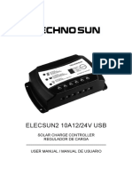 Instrucciones regulador SR-LM10