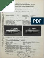 Fiat 131 homologation_form_number_5669_group_1