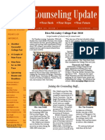 Counseling Newsletter November 2010
