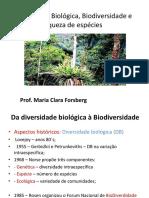 Da Diverdidade biologica a biodiversidade em florestas tropicais 2017_1