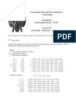 Mathcad - 2.2 Curvas IDF