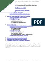 AlgorithmAnalysis- Lecture Notes