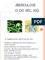 A tuberculose  Início do séc. XIX (1)