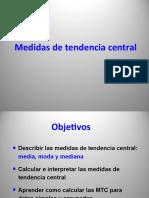 7 Medidas de tendencia central