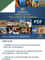 Capacitacion Uso y Manejo de Extintores Barrick.pptx