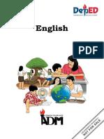 Grade 5 English Module 1 Final