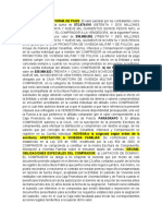 CLAUSULAS PARA ESCRITURA- LINARES FLOREZ