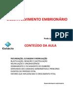 Aula 3 - Fecundação_Clivagem_Morulação