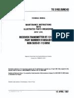 AN_PRC-113 (RT-1319_URC) Depot Level Manual