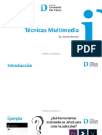 Curso de Técnicas Multimedia